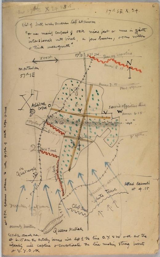 Map by D Jones